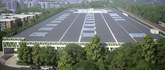 La EMT construirá una gran cochera verde en La Elipa